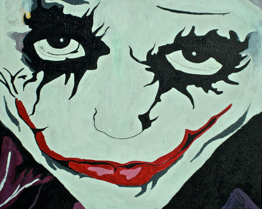 The Joker Painting  - The Joker Fine Art Print