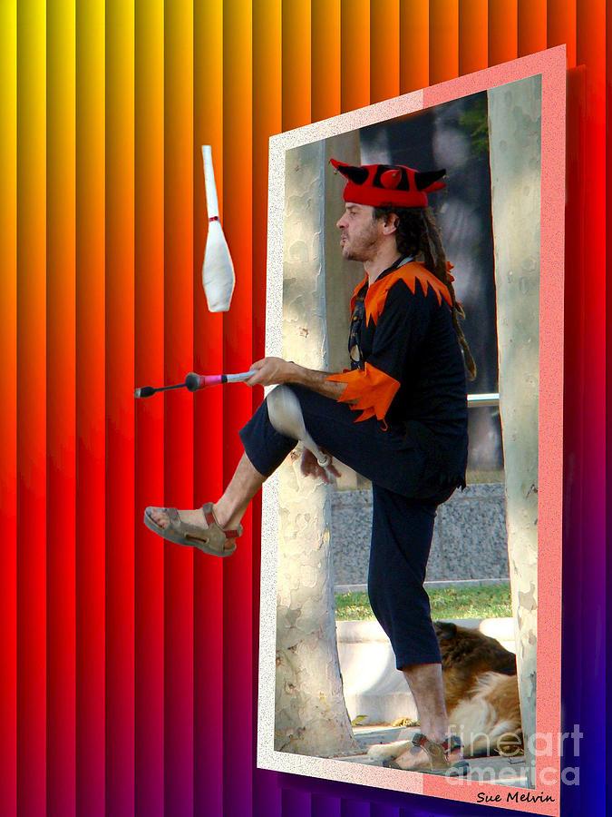 The Juggler Digital Art