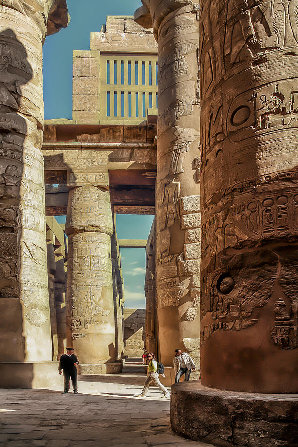 The Karnak Temple Photograph