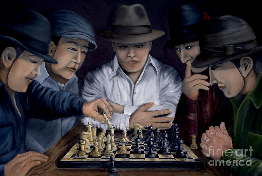 The King Makers Painting  - The King Makers Fine Art Print