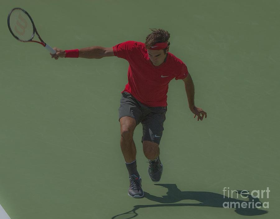 The King Of Tennis Photograph  - The King Of Tennis Fine Art Print