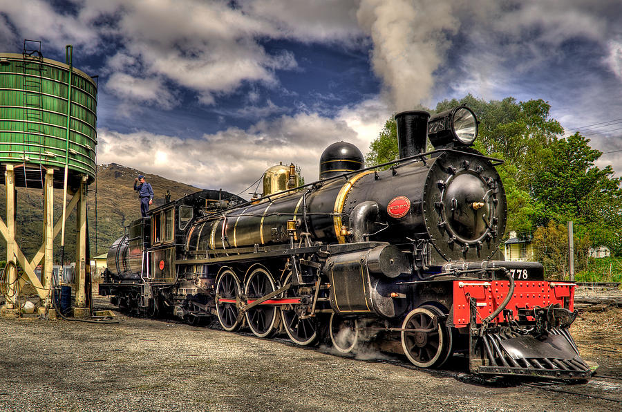 Steam Locomotive Photograph - The Kingston Flyer by Phil motography Clark