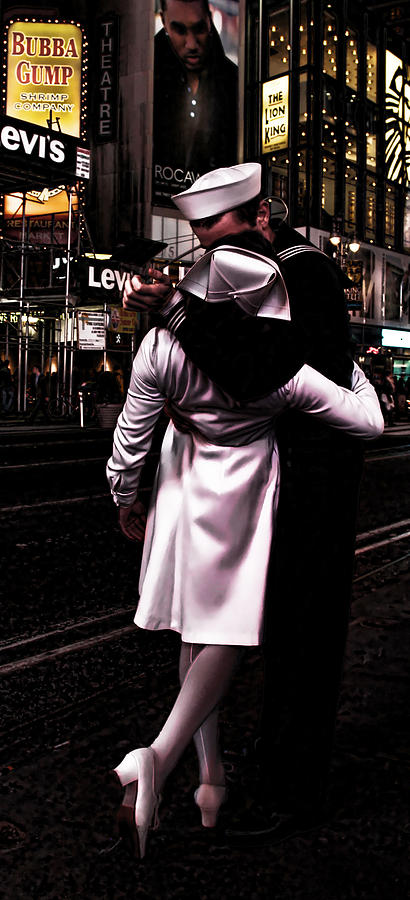 The Kiss In Times Square Photograph