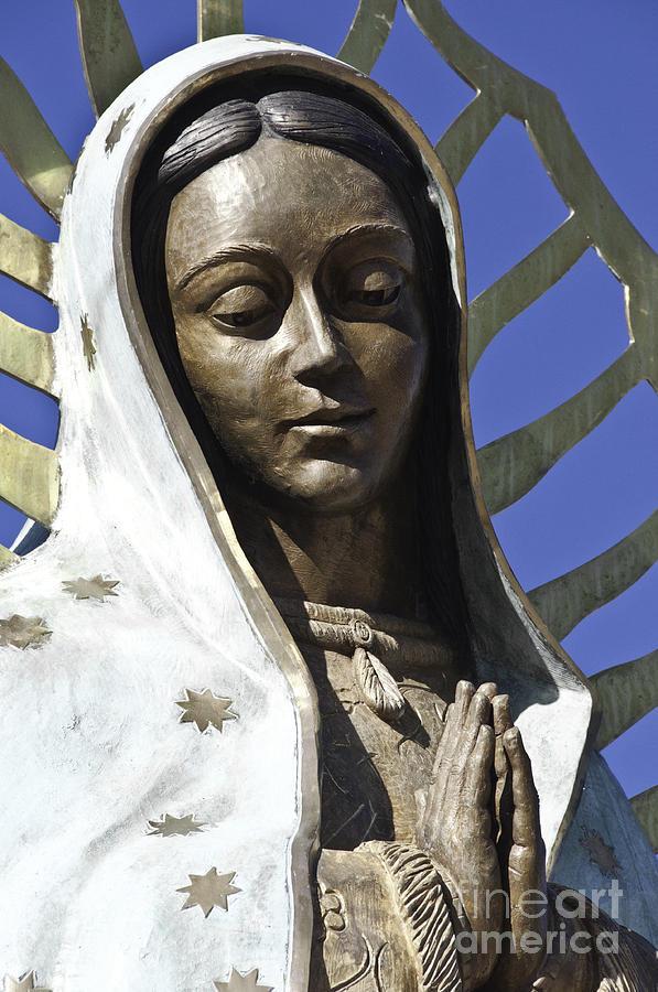 The Lady Prays Photograph