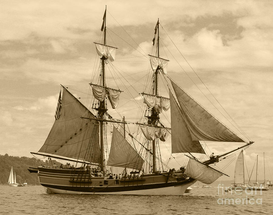 The Lady Washington Ship Photograph  - The Lady Washington Ship Fine Art Print