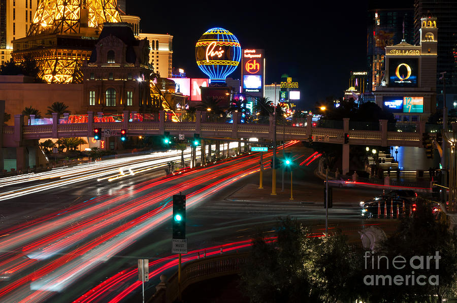 The Las Vegas Strip Photograph