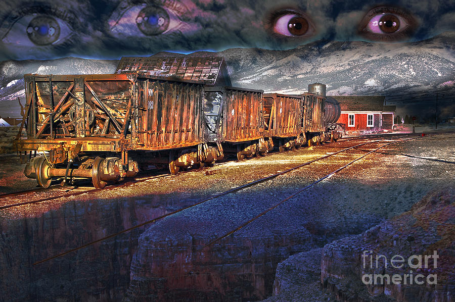 Fairy Photograph - The Last Shipment by Gunter Nezhoda