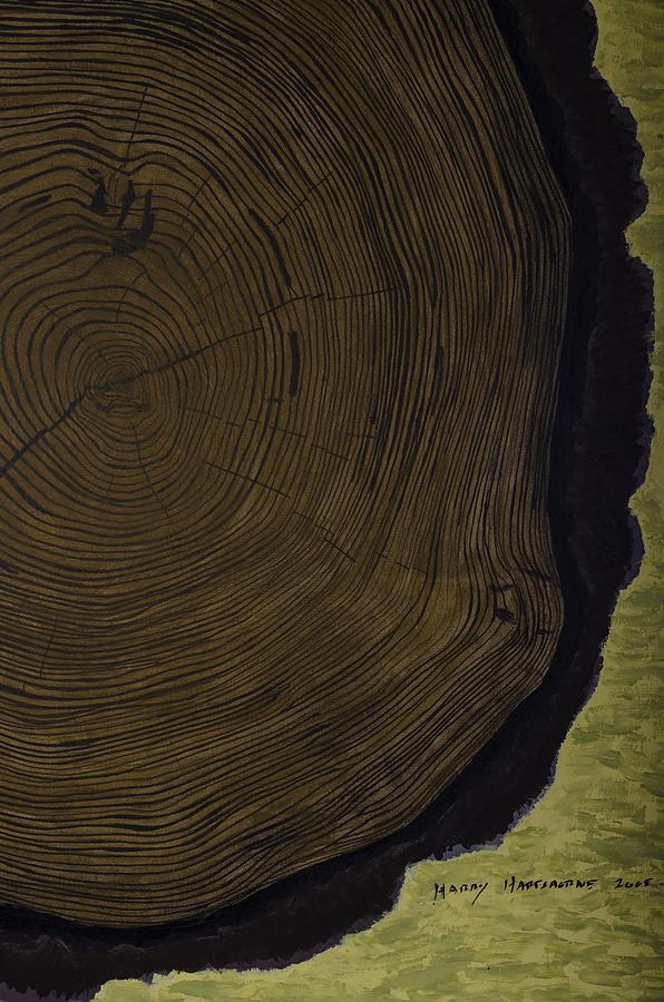 Tree Painting - The Life Of Harry Hartshorne by Harry Hartshorne