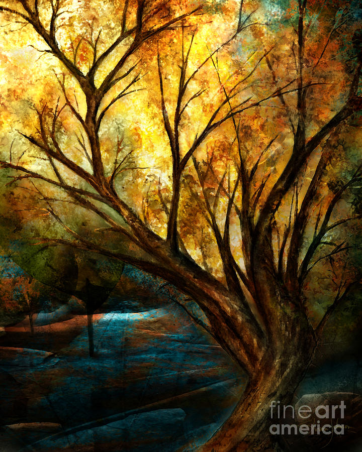 Tree Mixed Media - The Light Has Come by Shevon Johnson