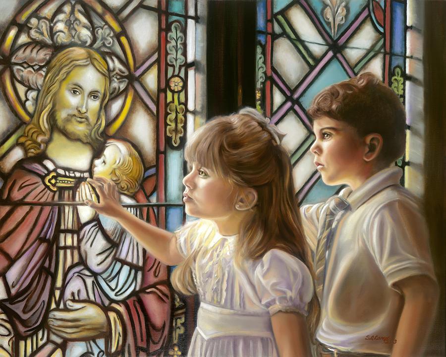The Light Of Faith Painting