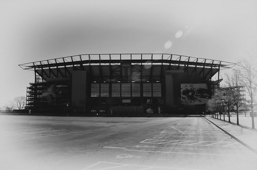 The Linc In Black And White Photograph