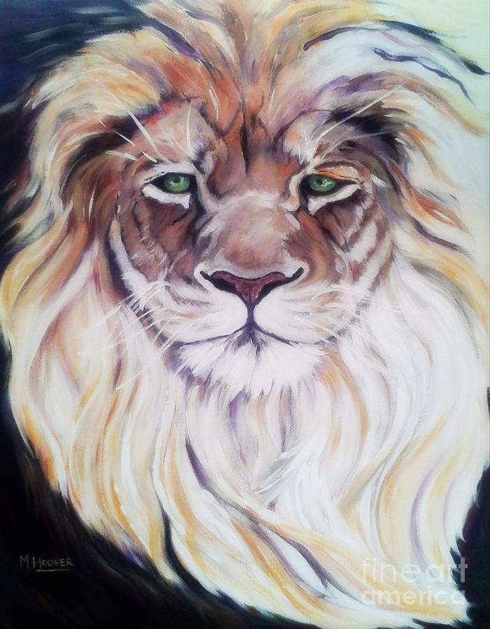The Lion Of Judah Painting