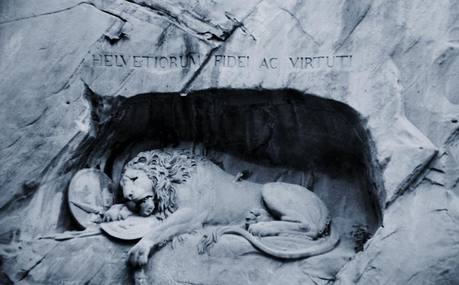 The Lion Of Lucerne Photograph
