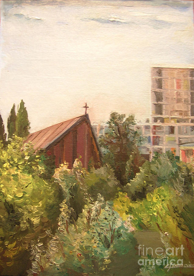 The Little Church Painting