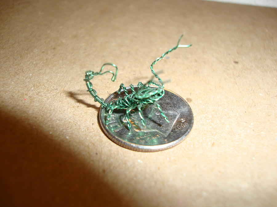 The Littlest Scorpion Sculpture  - The Littlest Scorpion Fine Art Print