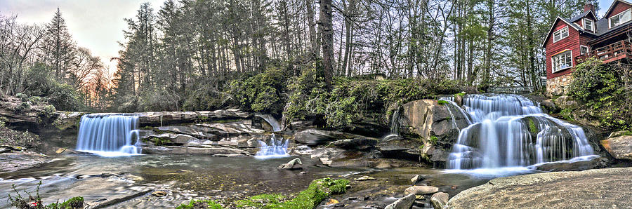 Balsam Grove Photograph - The Living Waters by Donnie Smith