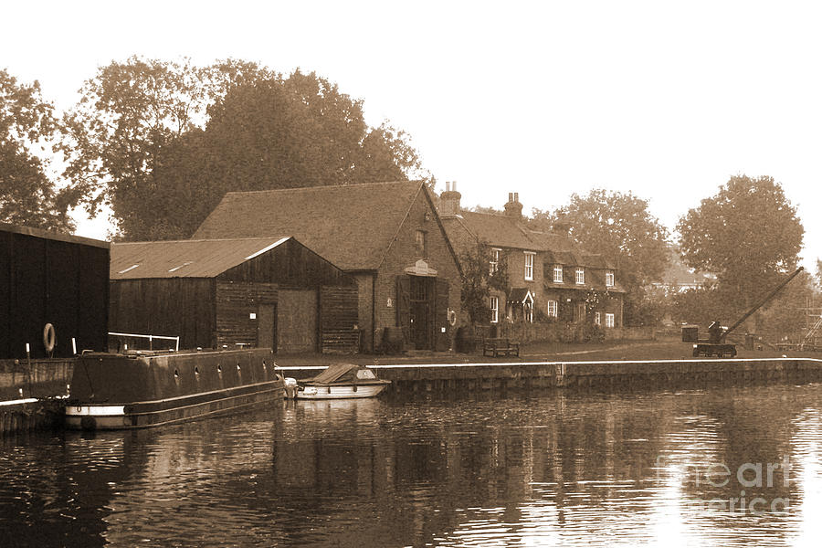 The Lock Keepers Cottage Photograph  - The Lock Keepers Cottage Fine Art Print