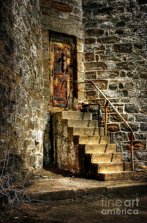 The Locked Door Photograph  - The Locked Door Fine Art Print
