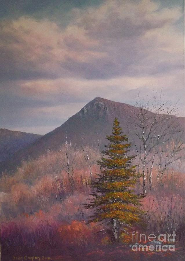 The Lonesome Pine Painting