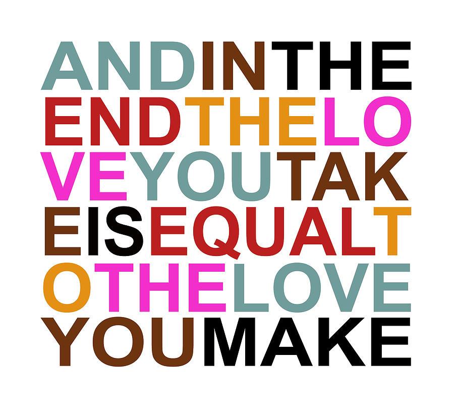 The Love You Make Digital Art