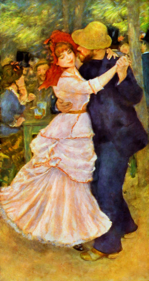The Lovers Waltz  Painting  - The Lovers Waltz  Fine Art Print