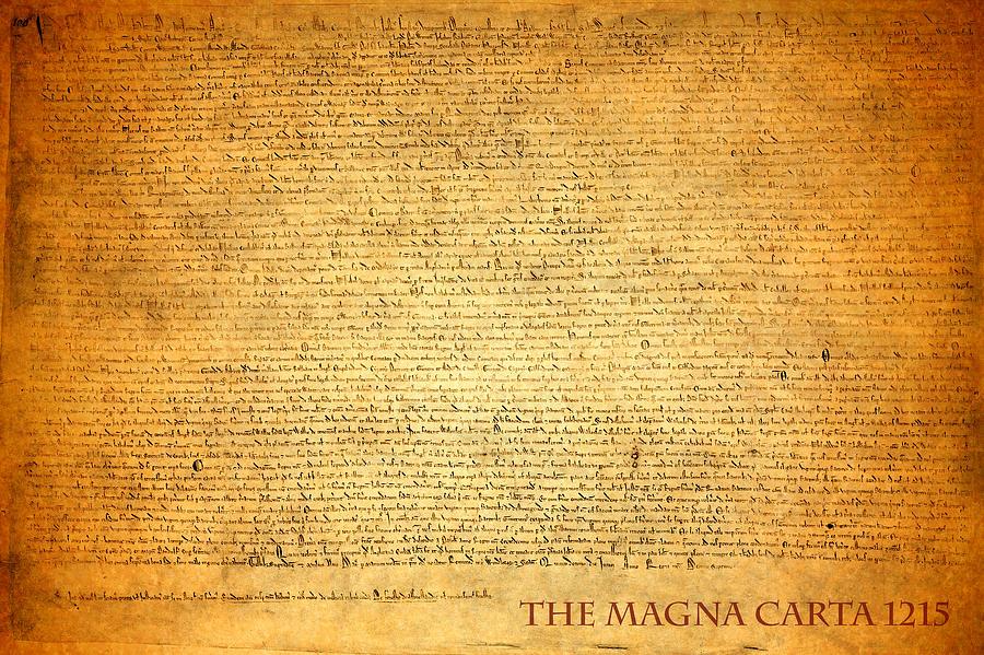 The Magna Carta 1215 Mixed Media