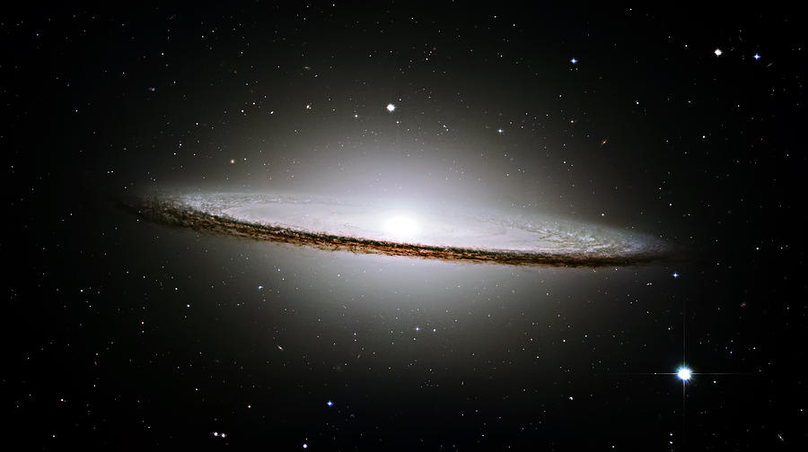 The Majestic Sombrero Galaxy Photograph