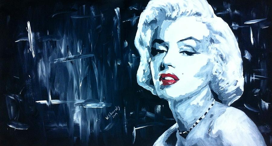 The Marilyn # 2 Painting  - The Marilyn # 2 Fine Art Print