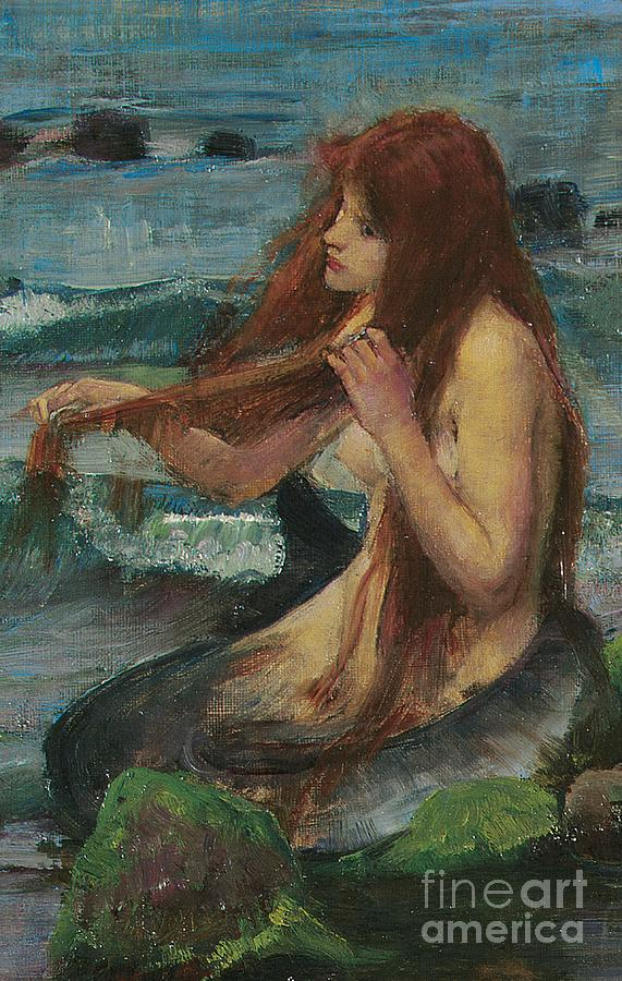 The Mermaid Painting