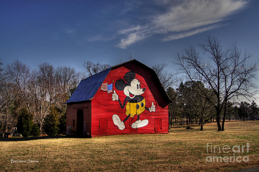 The Mickey Barn Photograph  - The Mickey Barn Fine Art Print
