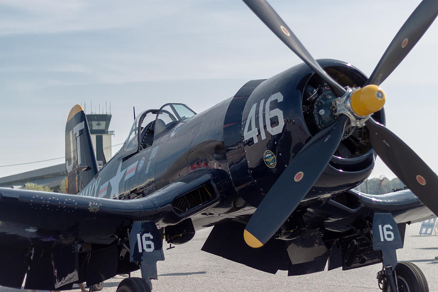 The Mighty Corsair Photograph  - The Mighty Corsair Fine Art Print