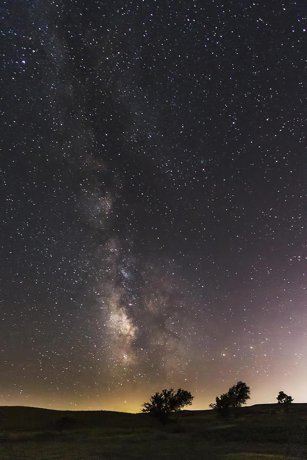 The Milky Way And Dark Kansas Skies Photograph