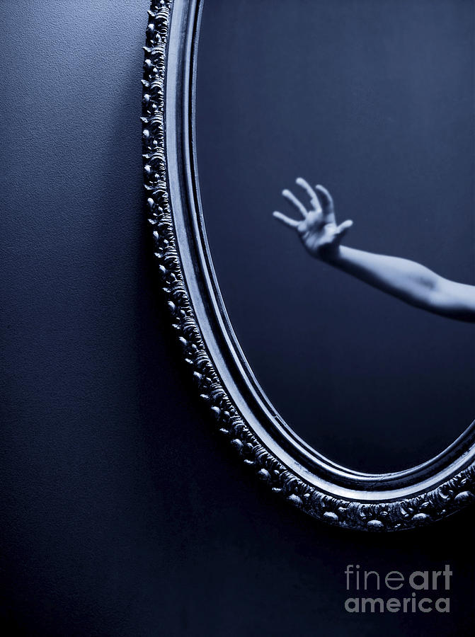 Fear Photograph - The Mirror by Diane Diederich
