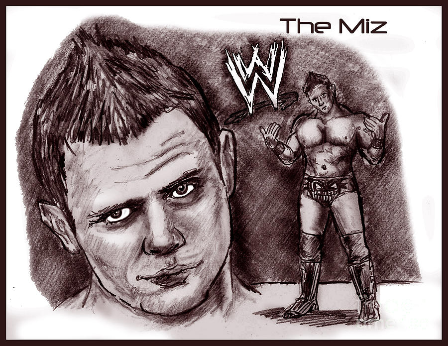 The Miz Drawing