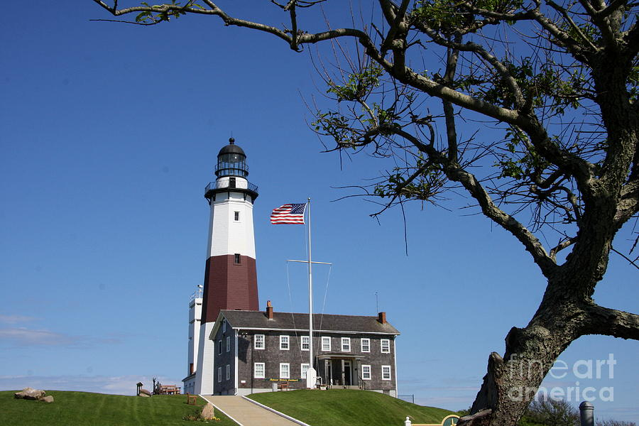 The Montauk Point Lighthouse Photograph