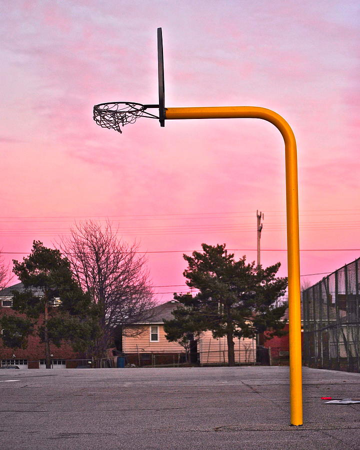 The Mood Of Cleveland Basketball Photograph