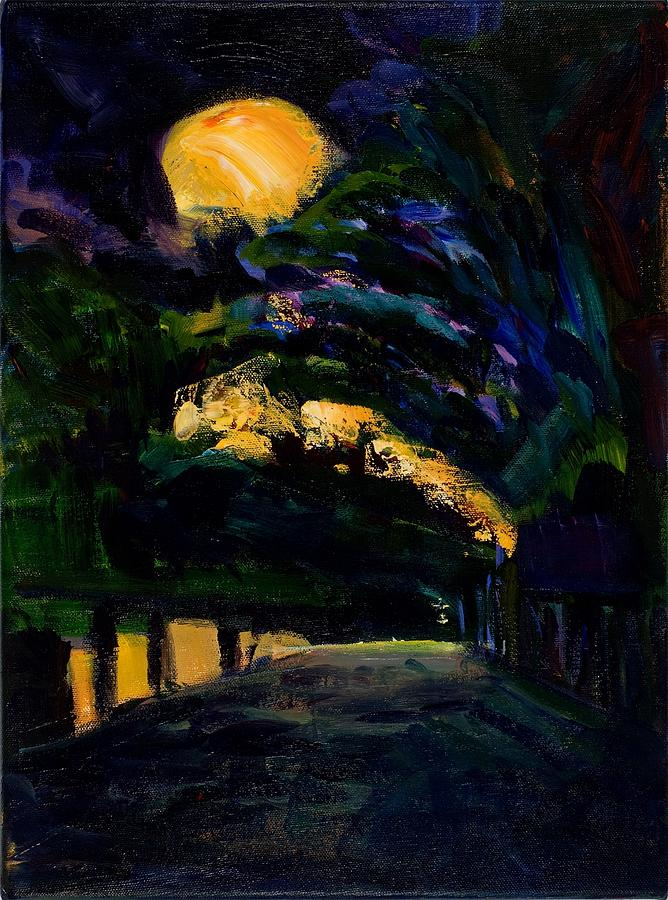 The Moons Place Painting  - The Moons Place Fine Art Print