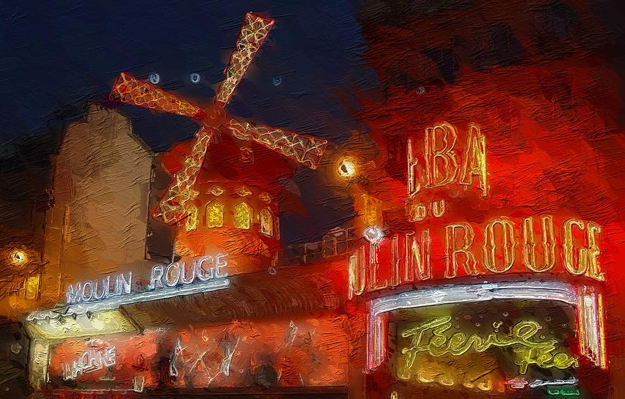 The Moulin Rouge Painting