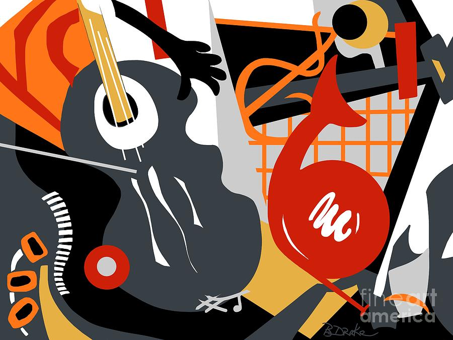 The Music Room Painting  - The Music Room Fine Art Print