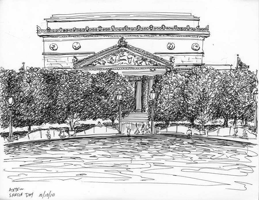 The National Archives Mixed Media  - The National Archives Fine Art Print