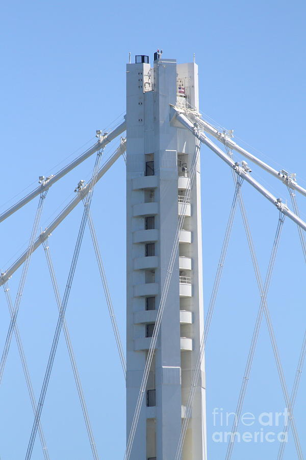 San Francisco Photograph - The New San Francisco Oakland Bay Bridge 7d25449 by Wingsdomain Art and Photography