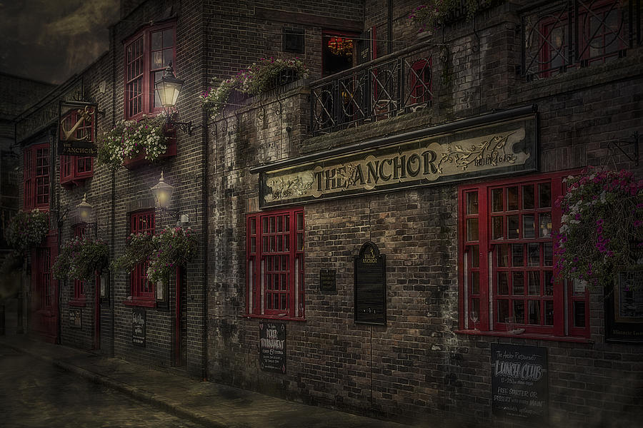 The Old Anchor Pub Photograph