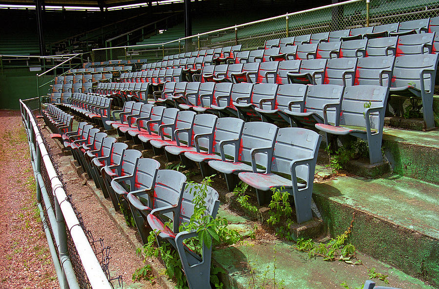 Aisles Photograph - The Old Ballpark by Frank Romeo