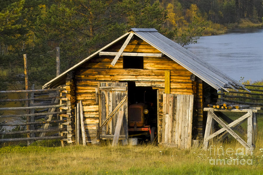 The Old Barn Photograph  - The Old Barn Fine Art Print