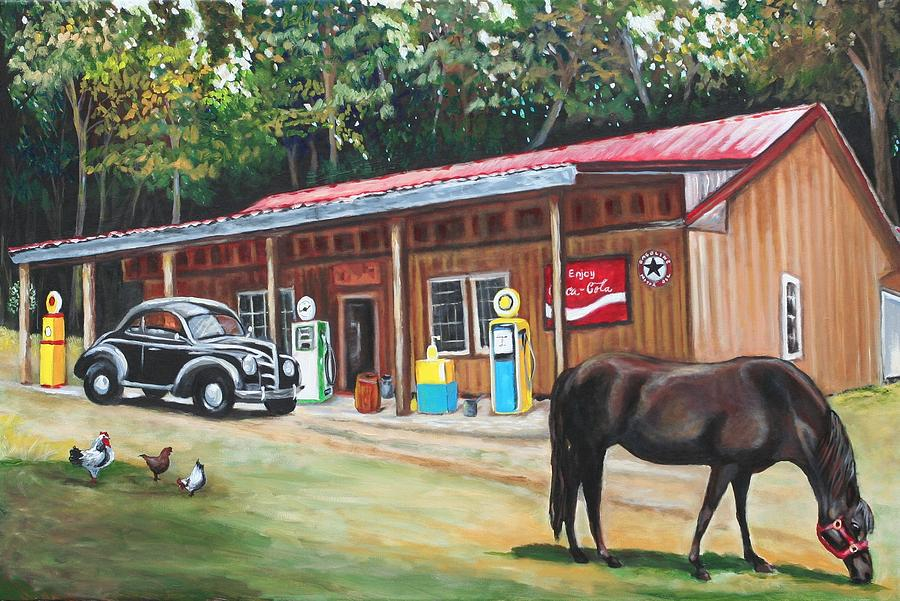 The Old Country Store Painting By Eve Wheeler