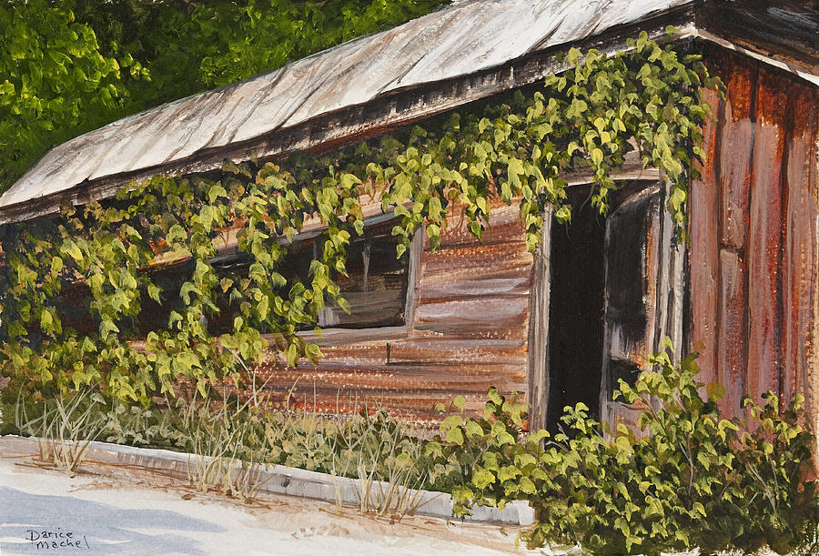 The Old General Store Painting  - The Old General Store Fine Art Print
