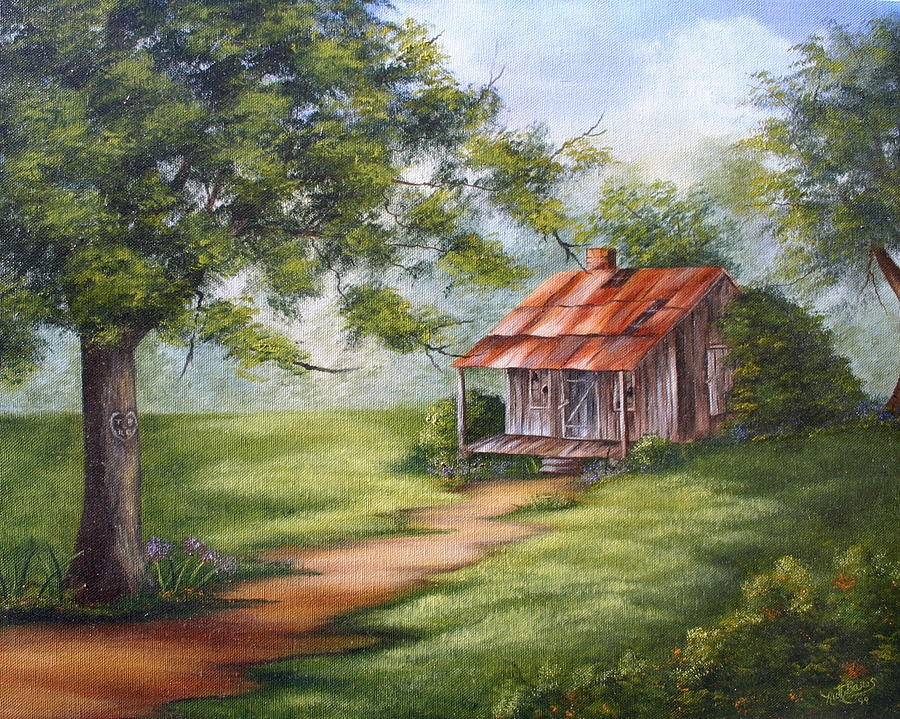 Ruth English Oil Painting