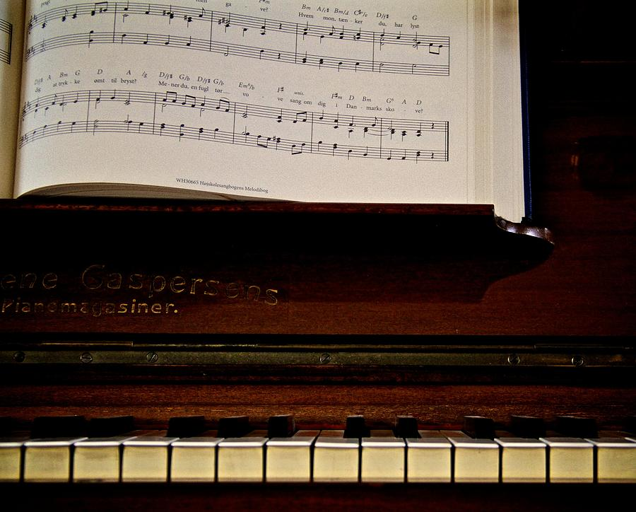 The Old Piano Photograph