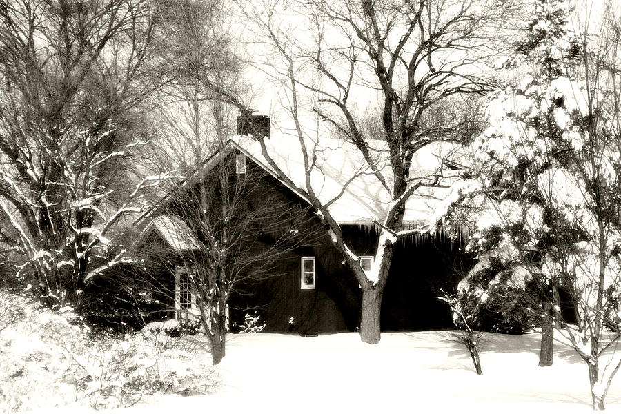 The Old Red House Photograph