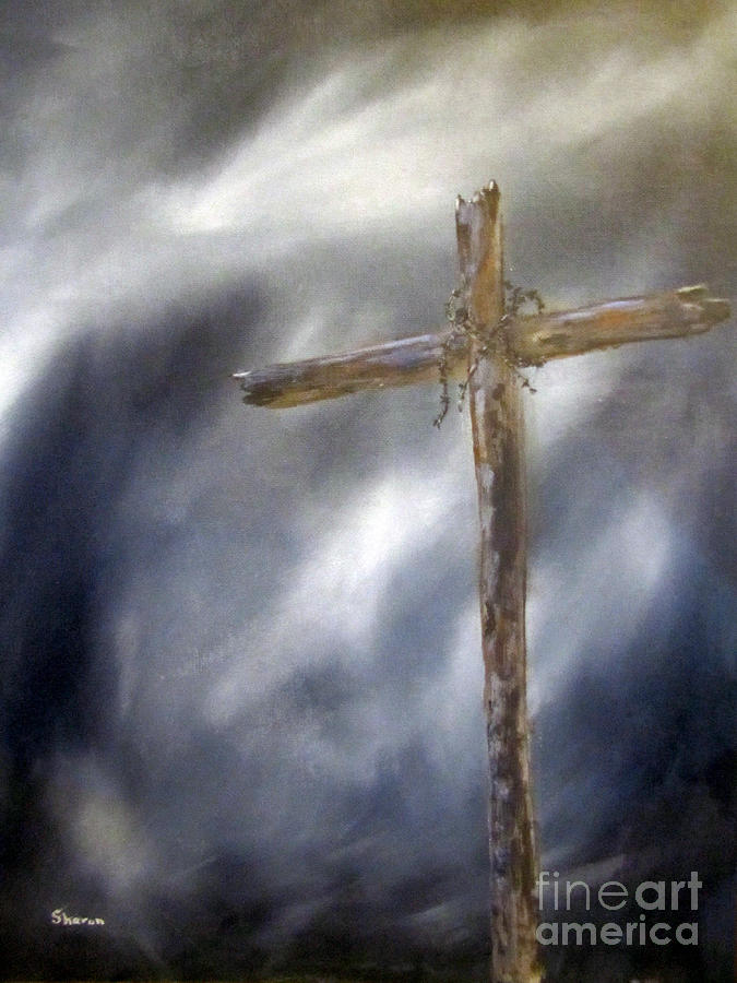 The Old Rugged Cross Painting